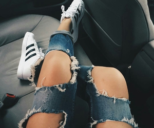 adidas, street style, and zapatos image