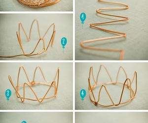 diy, crown, and ideas image