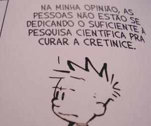 calvin, calvin and hobbes, and quadrinhos image