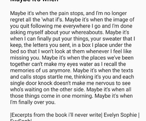 breakup, maybe, and quotes image