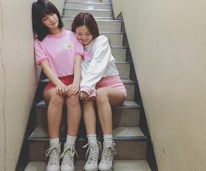 binnie, hyojung, and kpop image