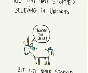 unicorn, believe, and Best image