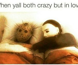 crazy, funny, and love image