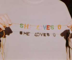 love, quotes, and she image