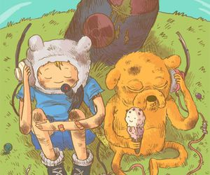 adventure time, bmo, and finn image
