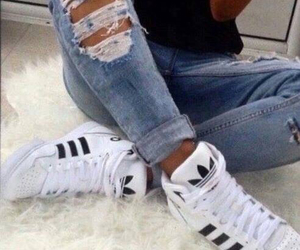 adidas, swag, and déchiré image