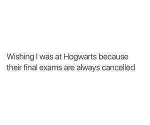 hogwarts and exams image