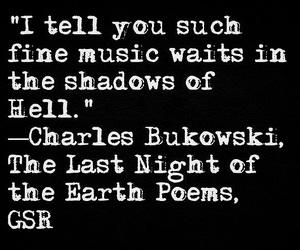 art, Bukowski, and grunge image