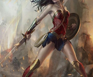DC, wonder woman, and diana prince image