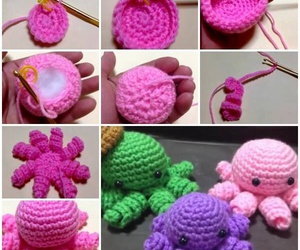 crochet, diy, and do it yourself image