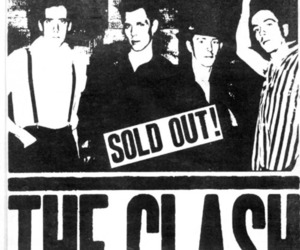 band, poster, and the clash image