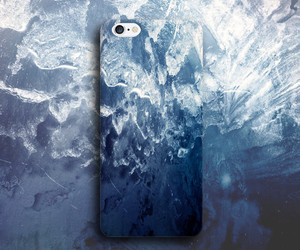 hearts, icy, and iphone case image