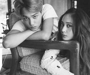 exo, kai, and soojung image