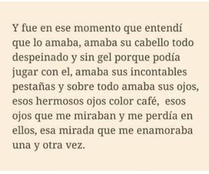 amor, tumblr en español, and frases image