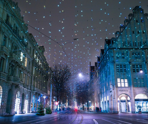 city, beautiful, and christmas image
