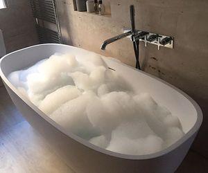 bath, bathroom, and luxury image