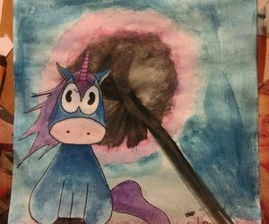 art, unicorn, and colour image