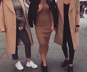 fashion, style, and coat image