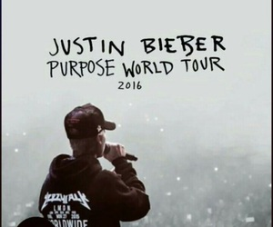 justin bieber, purpose, and tour image