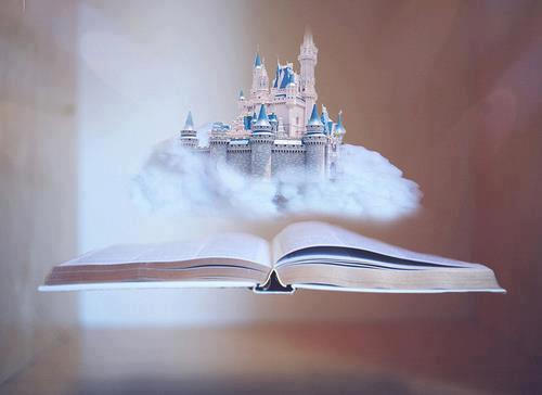 book, castle, and Dream image