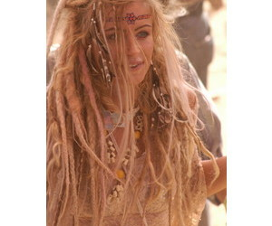 blond, cool, and dreadlocks image