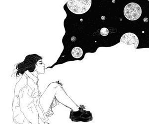 art, grunge, and drawing image