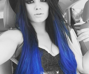 paige, wwe, and hair image