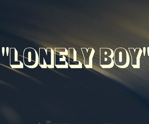 black keys, boy, and lonely image