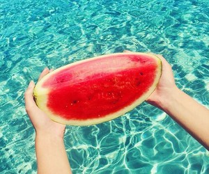 cool, summertime, and fruit image