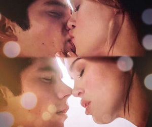 stydia, teen wolf, and kiss image