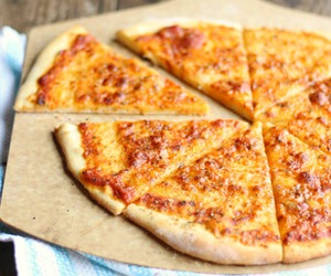 food, pizza, and cheesy image
