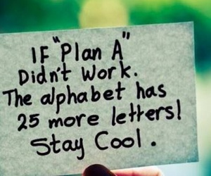 alphabet, plans, and staycool image