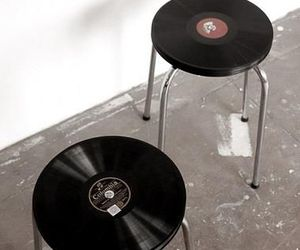cool, music, and stool image