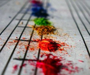 music, colors, and notes image