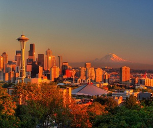 seattle, city, and photos image