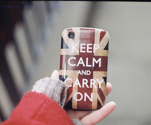keep calm and iphone image
