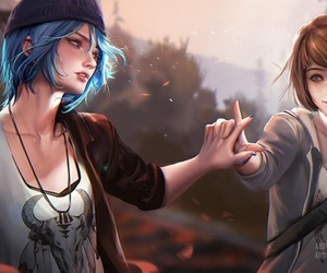 life is strange, chloe, and max image