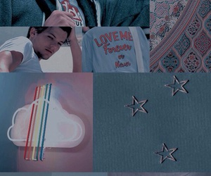 louis, rainbow, and louis tomlinson image