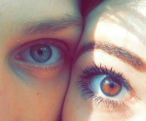 eyes, summer, and love image