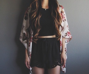 outfit, girl, and style image