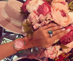 flowers, ring, and beautiful image