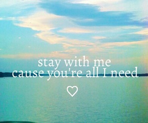 sam smith, stay with me, and love image