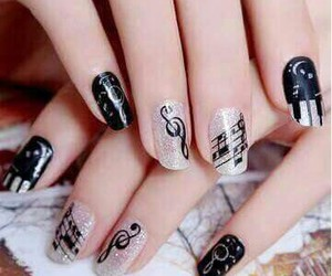 nails, music, and song image