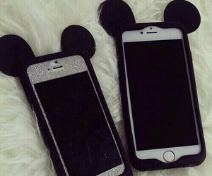 iphone, case, and disney image