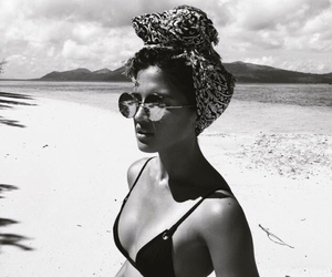 black & white, style, and sunglasses image