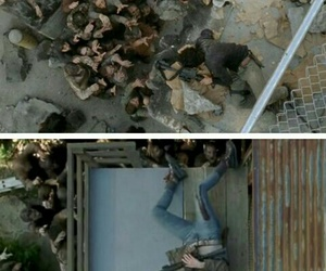 the walking dead, maggie greene, and glenn rhee image