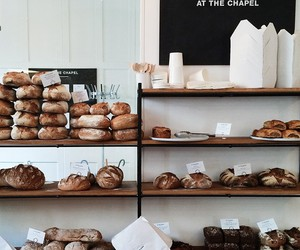 food, bakery, and bread image