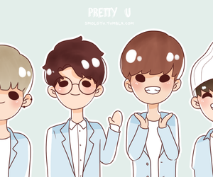 fanart and Seventeen image