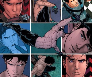 dick grayson and bat family image