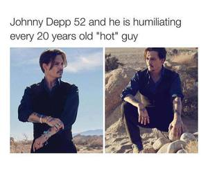 johnny depp, actor, and depp image